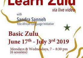 Learn Zulu poster